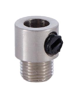 Nickel Plated Cord Bushing w/Set Screw