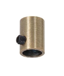 1/4F Antique Brass Finish Steel  Lamp Cord Strain Relief Bushing