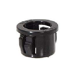 Black Nylon Snap-In Bushing, Fits SVT2 & SVT3 Braided Cord