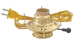 #2 Brass Plated Electric Burner