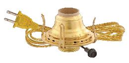 Solid Brass #2 Queen Electrified Burner
