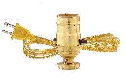 Electric Adaptor For Oil Lamps
