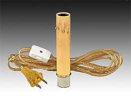 Candlestick Adaptor W Antique Style Cover 30410 B Amp P Lamp