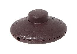 Brown On-Off Phenolic Push Button Floor Switch