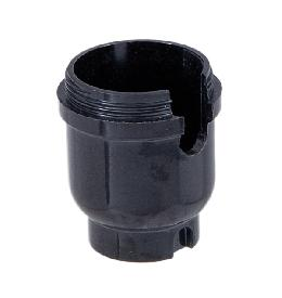 Phenolic one-slot cap for medium-size sockets, 1/4 IP bottom