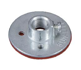Insulated Metal Lamp Socket Cap with 1/8IP Base, <br>for Porcelain Sockets
