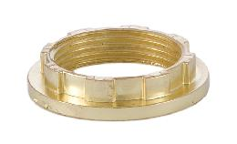 Brass Finish Aluminum Ring