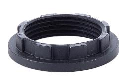 Satin Black Finish Aluminum Ring