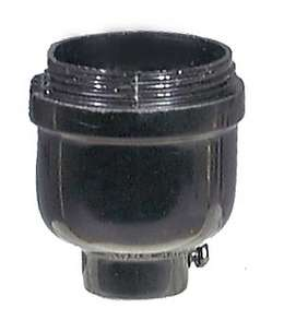 Leviton Brand Bakelite Keyless Socket Cap with 1/8F Thread