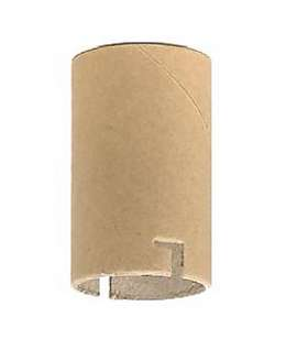 Paper Insulator for Standard Keyless Candle Socket