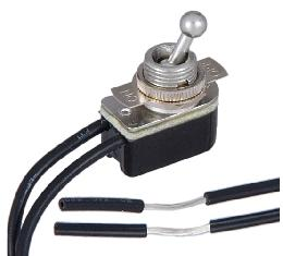 On-Off Nickel Toggle Switch