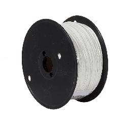 1000 Ft. Spool White Thin Single Strand FEP Wire, Choice of Color