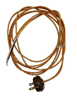 Rayon Lamp Cord Set with Antique Style Plug