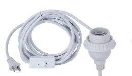 PVC Cord with  Medium UNO Socket and Switch