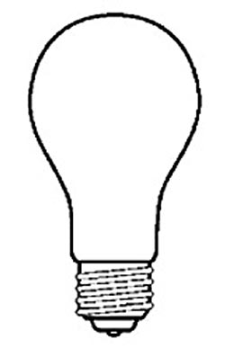 A-19, All Purpose Bulb
