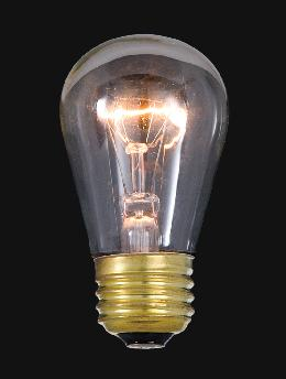 Low Watt Clear Medium Base Bulb Ideal for String Lights