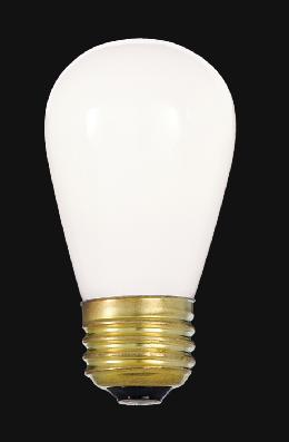 Low Watt White Medium Base Bulb Ideal for String Lights