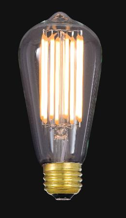 LED Dimmable Antique Style Light Bulb