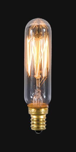 Antique Style T6 25W Candelabra Base Bulb
