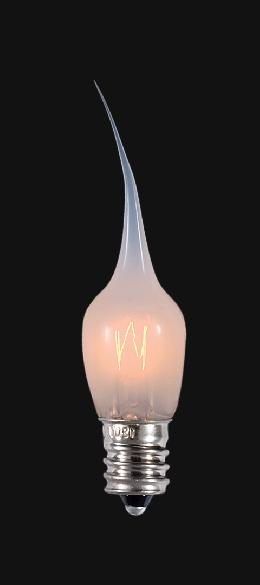 Special decorative light bulbs chandelier supply 1 12 inch silicone tip 3w candelabra base bulb aloadofball Images