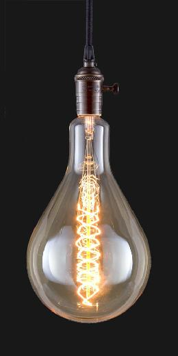 Oversized, Vintage Style PS56 Light Bulb