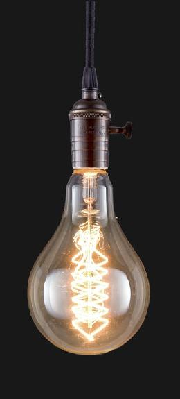 Oversized, Vintage Style A110 Antique Light Bulb
