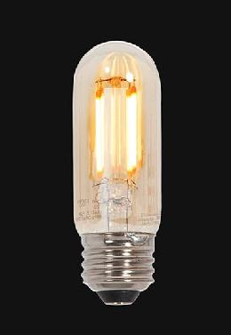 Amber Vintage Style Dimmable Standard 60 Watt Equivalent LED T10 Light Bulb