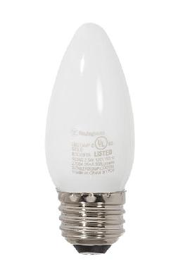 Soft White 40 Watt Equivalent Standard Base LED Dimmable B11 Light Bulb