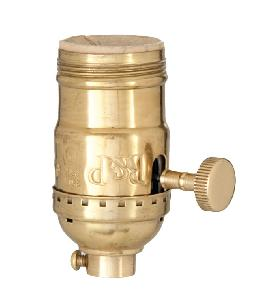 Solid Brass Premium Lamp Sockets