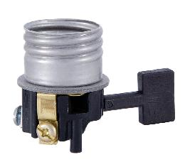 On/Off Fat Boy Size Medium Base Socket Interior. Leviton Brand