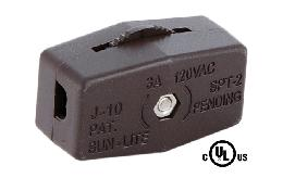 Brown Inline Rotary Switch