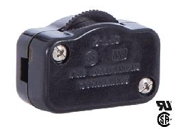 Brown Hi-Low Inline Rotary Dimmer Switch