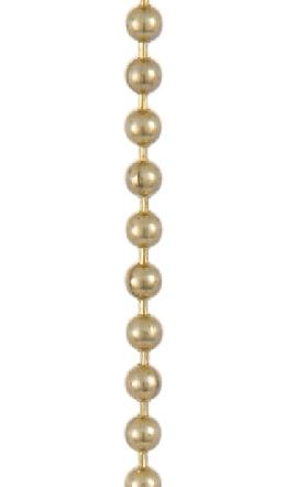 Brass Beaded Chain