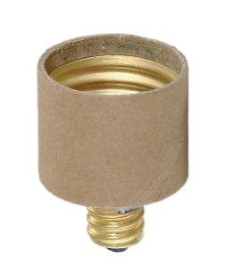 Socket Adapter - Candelabra to Standard-size