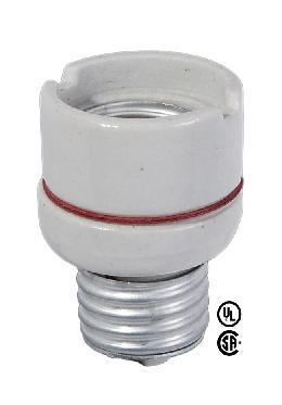 Medium Base E26 Socket Extension to 1 1/4 Inch