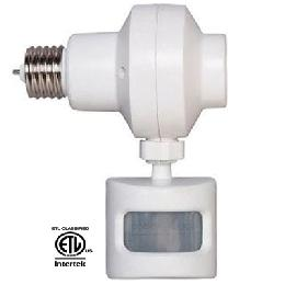 Outdoor Motion Activated Light Control