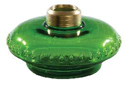 Dark Green Glass Bracket Lamp Font