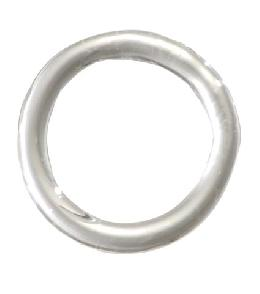 "1 5/8"" Clear Crystal Ring - No Pin Hole"
