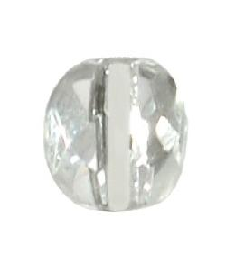 Clear Faceted Crystal Bead