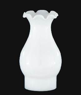 "3"" x 7"" Opal Glass Chimney"