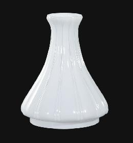 Opal Glass Angle Lamp Chimney