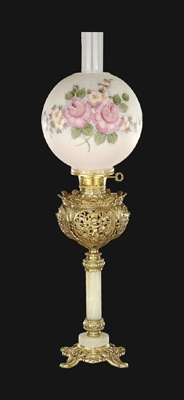 Victorian Gone With The Wind Parlor Amp Astral Table Lamps