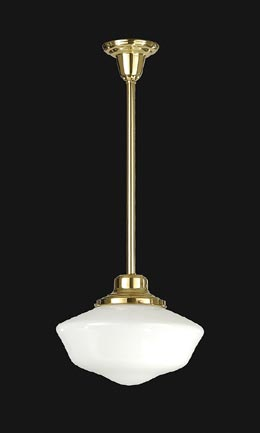 Schoolhouse Pendant Fixture, 6 Inch Holder
