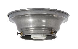 "3-1/4"" Fitter Wired Unfinished  Steel Flush Mount Fixture"