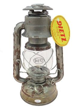 "Unfinished Dietz Brand #76 ""The Original"" Oil Lantern"