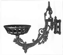 "11"" Cast Iron Wall Bracket"