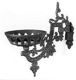 "9"" Cast Iron Wall Bracket"