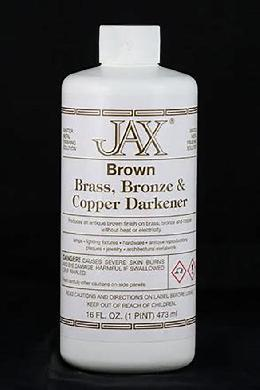 Jax Brown Finish, Choice of Size