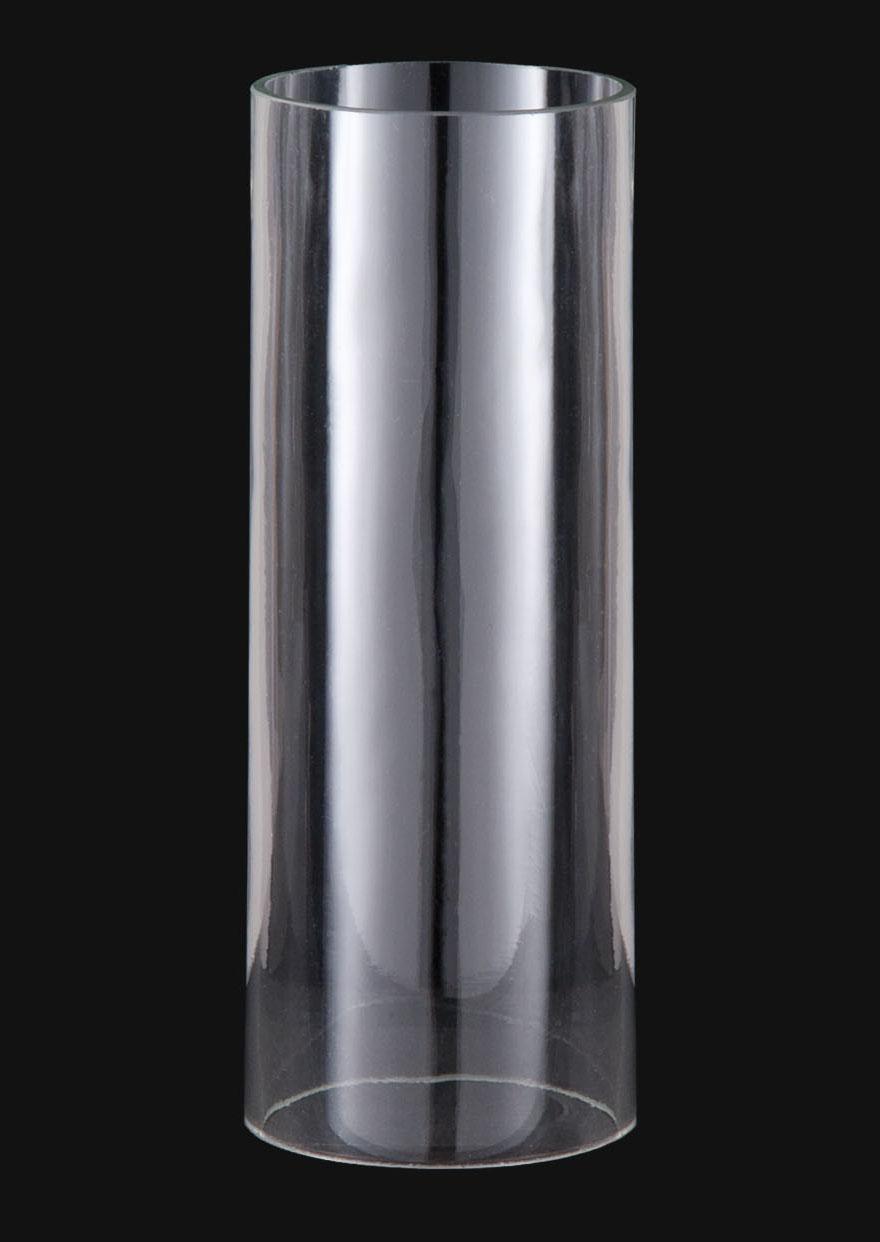 B&P Lamp Mid-Century Modern Clear Cylinder Shades