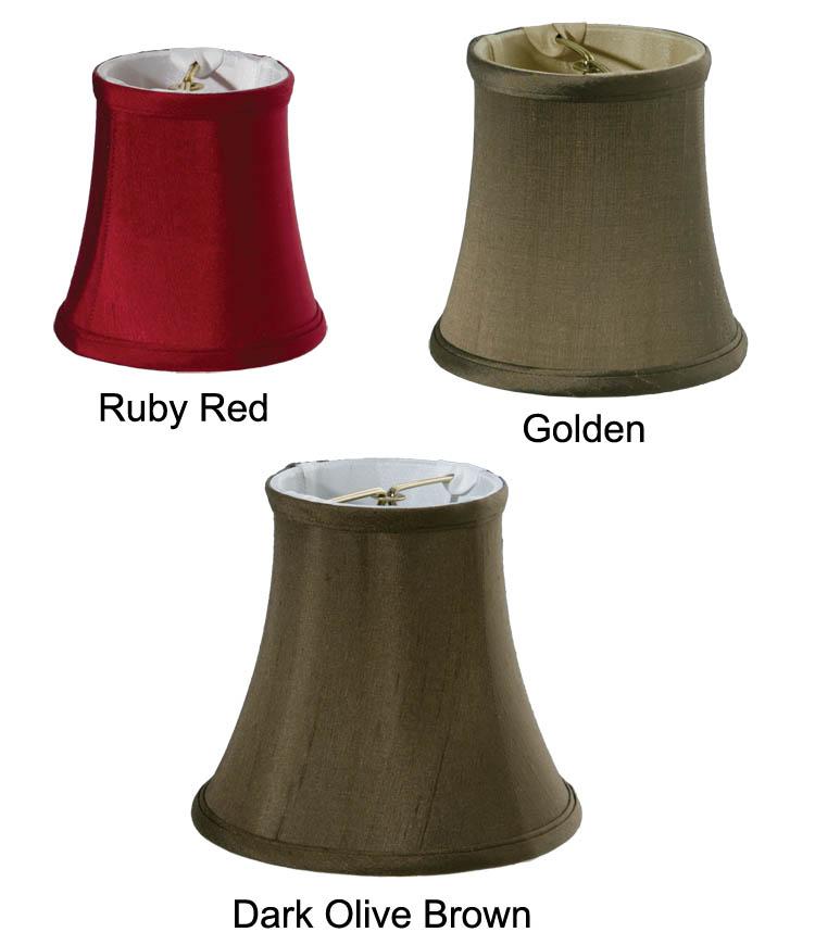 Chandelier Mini Bell 100 Pure Silk 00683s B Amp P Lamp Supply